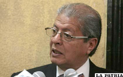 Director ejecutivo de la ANP, Juan León