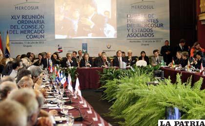 Bolivia consigue un voto más para ser socio pleno del Mercosur