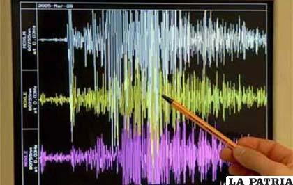 Los equipos que registran los sismos