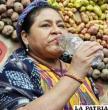 Activista y Premio Nobel de La Paz, Rigoberta Menchú