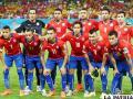 La selección chilena que venció a Australia el viernes (3-1)