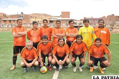 Los integrantes del equipo de Incerpaz