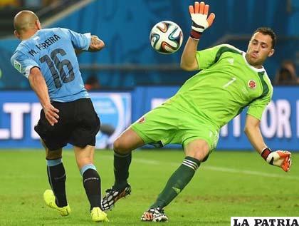 Ospina es el portero de la selección colombiana