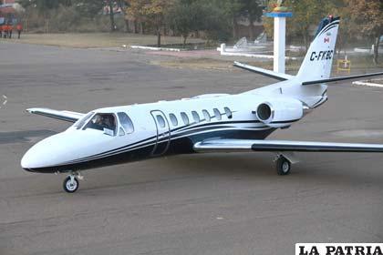 El Gobierno adquirió avión con tecnología SFD para exploración aérea de hidrocarburos