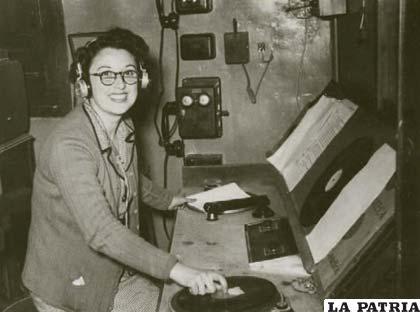 Antiguo estudio de grabación de programas de radio