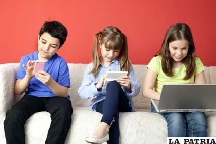 Los más pequeños están retraídos por la tecnología