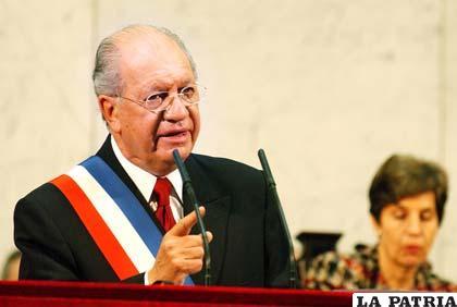 Ricardo Lagos, que fue presidente de Chile entre 2000 a 2006