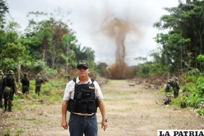 Pista clandestina en Perú, donde aterrizaban avionetas con droga de Bolivia /agendapais.com
