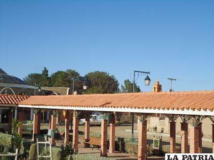 Vista de la plaza de Iroco /Foto archivo