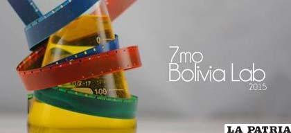 Cartel promocional de Bolivia Lab 2015