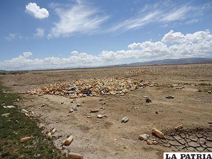 Los envases plásticos no son fácilmente biodegradables