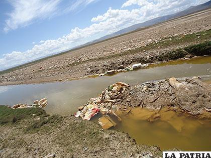 Las botellas PET contaminan los ríos
