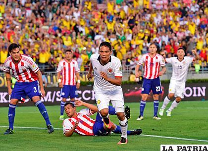 Bacca fue autor del primer gol de los colombianos /as.com