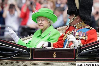 Reina Isabel II de Inglaterra celebró sus 90 años en Londres