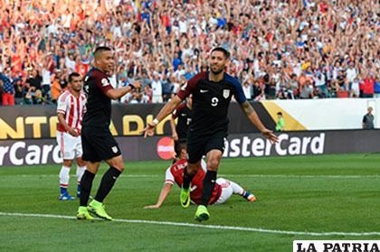 Clint Dempsey fue el autor del único gol de partido para la victoria de Estados Unidos /AS.COM