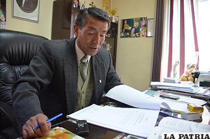 El juez de Ejecución Penal, Germán López
