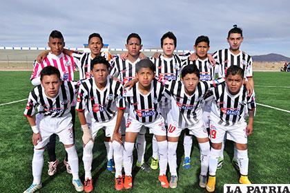 Jugadores del plantel de Oruro Royal