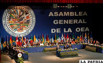 Santo Domingo acogerá la 46 Asamblea General de la OEA