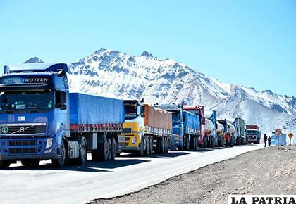 El sector del transporte pesado internacional y nacional demanda la modificación del Artículo 181 del Código Tributario /boliviaya.com
