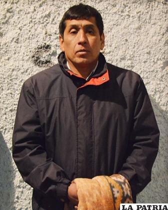 El súbdito peruano Edgar Gamboa Gavilán