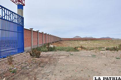 Terreno alrededor del Puerto Seco debe ser liberad