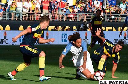 En el partido inaugural, ganó Colombia 2-0 /as.com