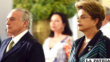 Temer fue absuelto y seguirá como presidente de Brasil /INFOBAE