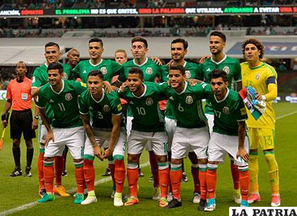 La Selección Mexicana ya entrenó con equipo completo en Kazán
