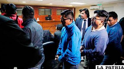 Gobierno pagará la multa de 9 detenidos en Chile