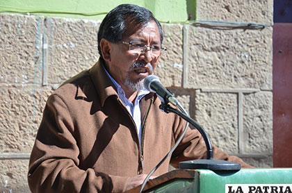 El director General de Régimen Penitenciario de Bolivia, Jorge López Arenas