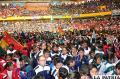 Ultiman detalles para el inicio de los  Juegos Estudiantiles Plurinacionales