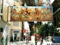 El Mural del Cuarto Centenario  está abandonado a su suerte