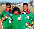 Daniel Toroya, Nemia Coca y Vidal Basco