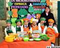 De forma creativa, los niños expusieron beneficios de alimentación saludable