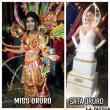 Trajes típicos de representantes  de belleza de Oruro son criticados