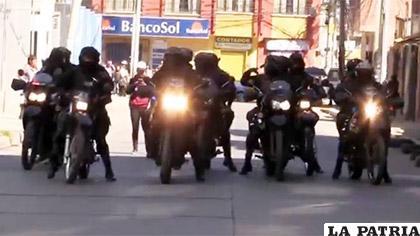 Los policías que estuvieron en el operativo son testigos de la muerte del universitario Quispe /Erbol