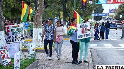21F invade Juegos Suramericanos y piden respetar derecho a la protesta  /Los Tiempos