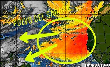 Uno de los esquemas del estudio realizado por el centro meteorológico de la provincia occidental de Pinar del Río / losmoncionero.com