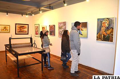 Exposición en el Instituto Superior de Bellas Artes (ISBA)