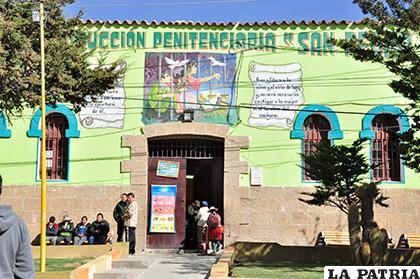 La situación en el penal de San Pedro es de tranquilidad por el buen comportamiento de los internos /Archivo