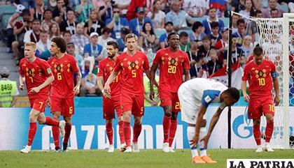Bélgica derrotó a Panamá por 3-0 y lidera el Grupo G /PER�?.COM