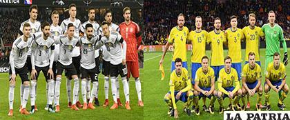 Alemania en busca de su primer triunfo, Suecia espera lograr su clasificación /LATINA