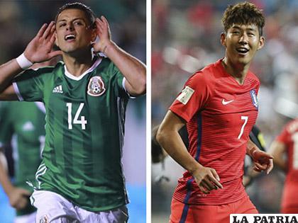 México y Corea del Sur son parte del grupo F del Mundial Rusia 2018 /GETTY IMAGES
