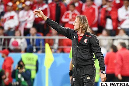 Ricardo Gareca, podría continuar como seleccionador de Perú /TELEMUNDO