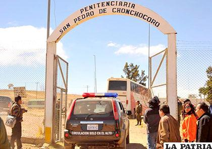 El ingreso al penal de Chonchocoro /Mira Bolivia
