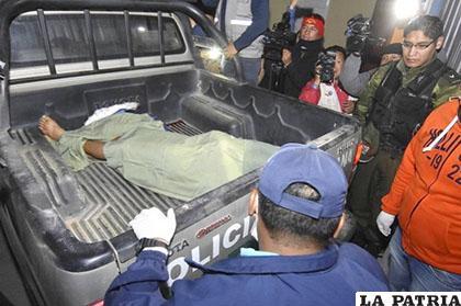 Escobar murió a consecuencia de múltiples heridas /Correo del Sur