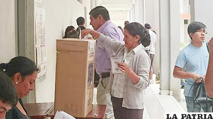 Elecciones judiciales en Bolivia /La Voz de Tarija