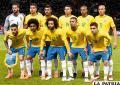 Brasil de la mano de Neymar pretende la media docena