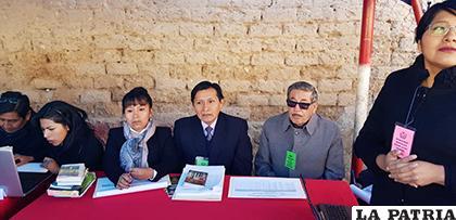 La visita realizada por las autoridades judiciales al penal de San Pedro /TDJO