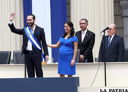 Nayib Bukele asumió este sábado la presidencia de El Salvador para el período 2019-2024 /albertonews.com